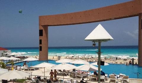 Palace Resorts Cancun Mexico Beach Palace to Beach Palace Resort