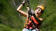 ziplining tour in the caribbean