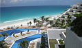 luxury resort in cancun on the beach