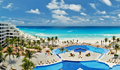 resort in cancun with white sand beach