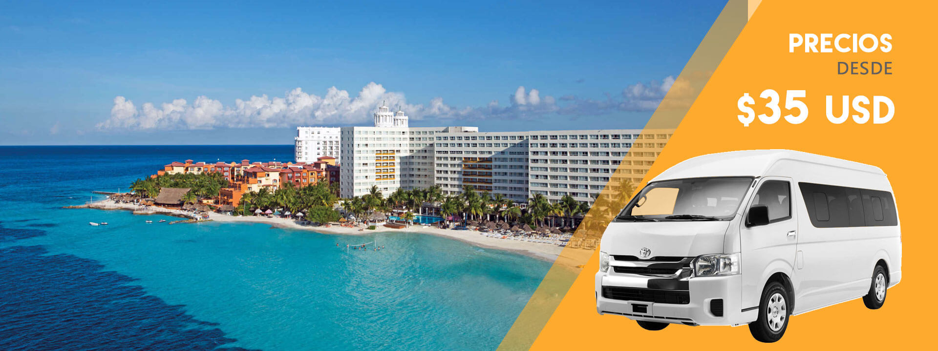 Cancun Airport Transportation à partir de 35USD