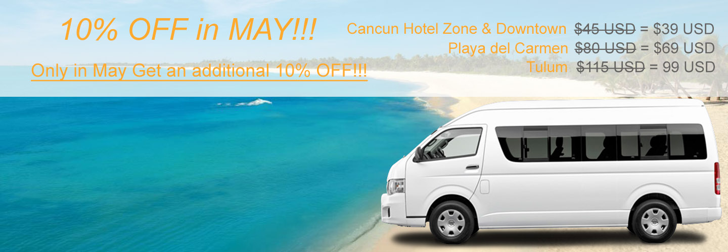 Cancun Airport Transportation to Beach Hotel